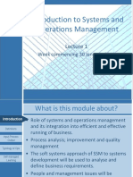 L 01 Introduction to Systems and Operations Management