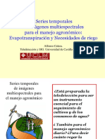 1.- Series Temporales de Imagenes Para Manejo Agronomico - Alfonso Calera