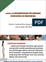 Arah Kebijakan Pelayanan Kesehatan Kedepan Ntt (16mei2013) Final