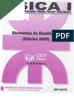 Física I - BF1AT6 - Elementos de Elasticidad (2005)