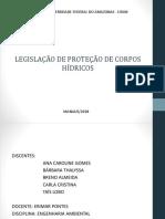 Eng. Ambiental Legislação de Proteção Dos Corpos Hídricos