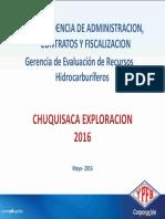 Presentacion YPFB Chuquisaca Exploracion