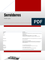 Servidores Oracle RISK Data Center