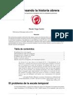 (Re) Pensando La Historia Obrera - Renan Vega Cantor
