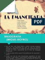 La Emancipada (Novela Ecuatoriana) - Diapositivas