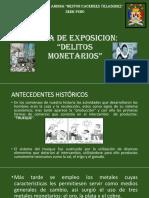 DELITOS MONETARIOS exposi