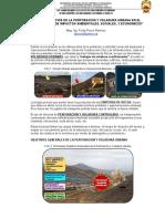 Tema - Retos y Desafios de La Perforacion y Voladura Urbana en El Peru - Fredy Ponce _minas - Unsch (Word)