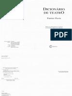 PAVIS, Patrice - Dicionário de Teatro