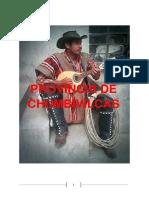 Monografia de Chumbivilcas