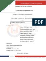 Gestion de Riesgo Financiero Grupo 6