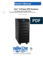 Tripp Lite Owners Manual 753945