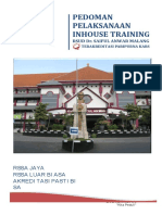 Buku Panduan in House Training