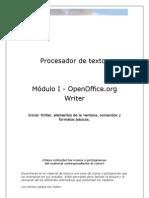 Primer Curso Autoasistido Procesador de Texto