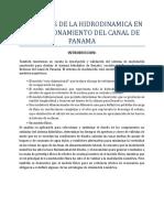 Principios de La Hidrodinamica en El Funcionamiento Del Canal de Panama 111