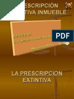 La Prescripcion Extintiva