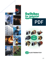 Switches For Industrial Applications