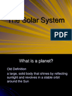 Solar System and Planets New