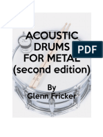 Acoustic Drums for Metal - Second Edition
