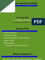 Data Types and Data Analysis