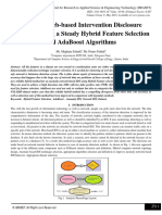 Anomaly Web-based Intervention Disclosure Structure using a Steady Hybrid Feature Selection and AdaBoost Algorithms