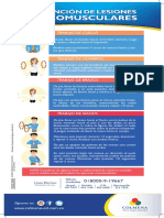 Afiche 10.Prevencion de Las Lesiones Osteomusculares