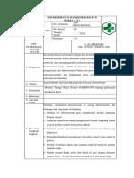 Sop Kesehatan Dan Keselamatan Kerja ( k3 )