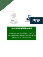 Www.sat.Gob.mx Terceros Autorizados Donatarias Donaciones Documents Manustransp