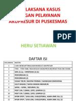 4. TATALAKSANA KASUS DENGAN PELAYANAN AKUPRESUR DI PUSKESMASKU - Copy.pptx