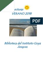 Lecturas Verano 2018