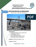 Aplicacion de La Geologiaa en Obras