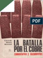 Eduardo Novoa Monreal - La batalla por el cobre. Comentarios y documentos.pdf