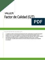 Taller Factor de Calidad