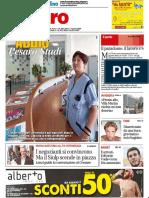 Addio, Pesaro Studi - Il Resto del Carlino dell'11 luglio 2018
