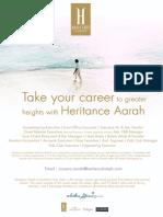 Aarah Advert - Executive
