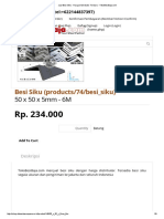 Besi Siku - Harga Distributor Terbaru - TokoBesiBaja