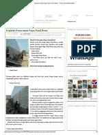 Kegiatan Pemasangan Pagar Panel Beton _ Pagar Panel Beton Banten