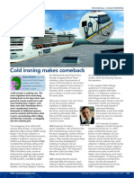 Seatrade Magazine 15-1 Cold Ironing Makes Comeback
