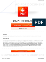 Diktat Turbin Air