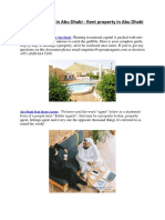 Guide to Renting in Abu Dhabi - Rent Property in Abu Dhabi