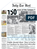 The Daily Tar Heel for September 29, 2010
