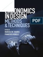 [Human Factors and Ergonomics] Rebelo, Francisco_ Soares, Marcelo Marcio - Ergonomics in Design_ Methods & Techniques (2016, CRC Press)