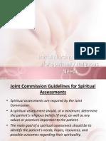 Nursing Spiritual Assessment 1
