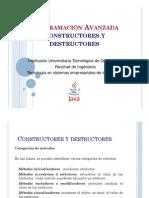 ConstrutoresyDestructores