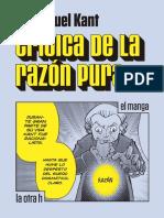 5 Critica de La Razon Pura El Manga