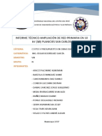 Redes Primarias Las Planicies de San Carlos
