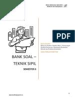 Bank Soal Teknik Sipil Semester 6