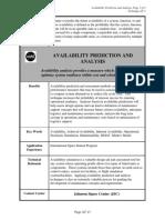 Availability prediction Methods_NASA.pdf
