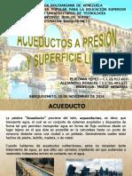 Acueductos a Presión y Superficie Libre
