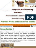 Cattle & Poultry Feed Manufacturing Business