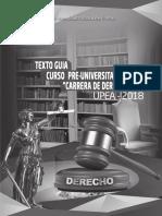 Upea Texto Guia Prefacultativo Derecho 2018